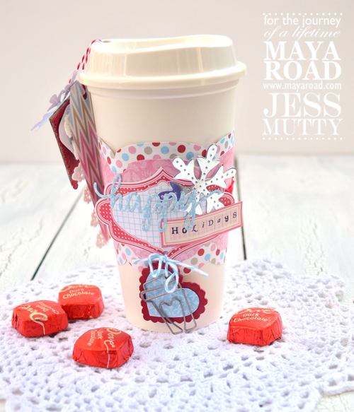 ltered Holiday Coffee Cup by Jess Mutty