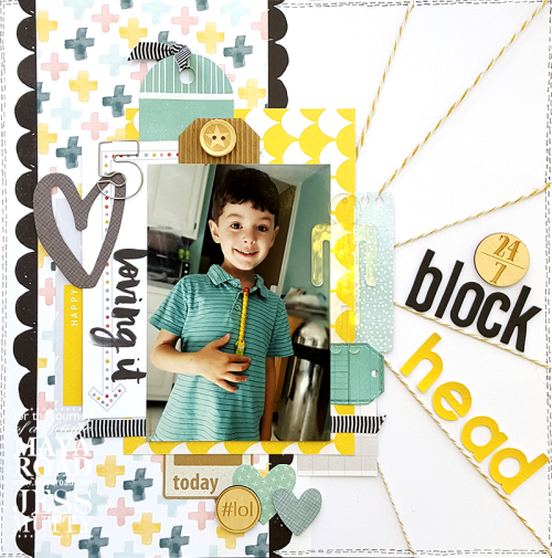 Blockhead by Jess Mutty for Maya Road