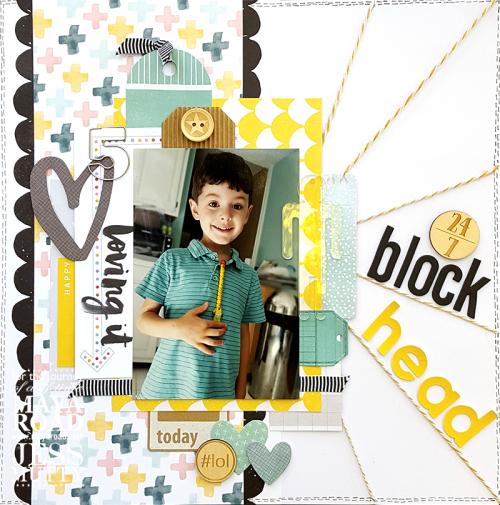 Blockhead by Jess Mutty for Maya Road