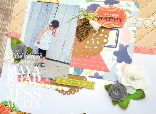 Wild and Free by Jess Mutty for Maya Road