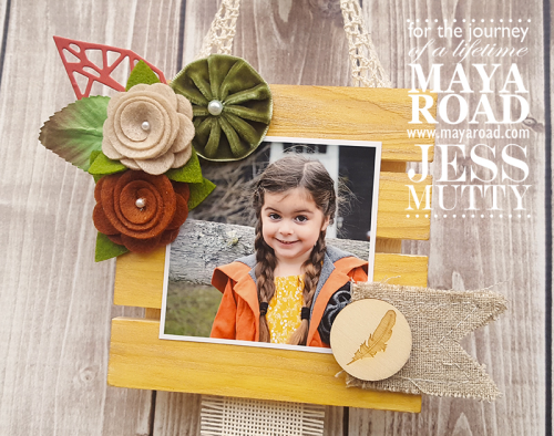 Pallet Hanging by Jess Mutty for Maya Road