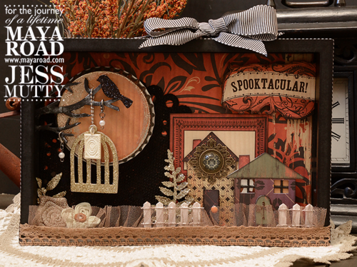 Spooktacular Scene by Jess Mutty for Maya Road