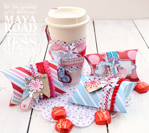 ltered Holiday Coffee Cup and Boxes by Jess Mutty