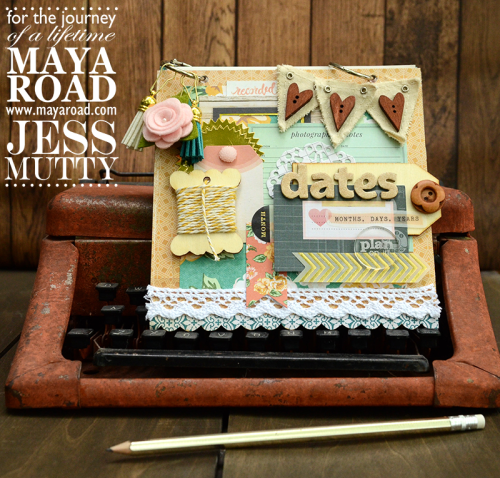 Date Book by Jess Mutty for Maya Road