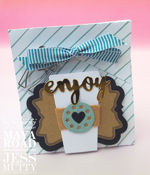Coffee Gift Card Box by Jess Mutty for Maya Road