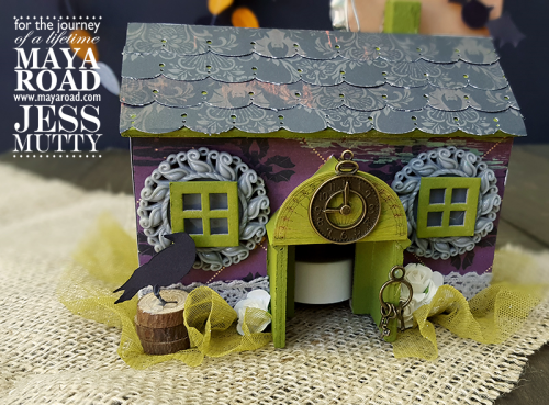 Halloween House by Jess Mutty for Maya Road