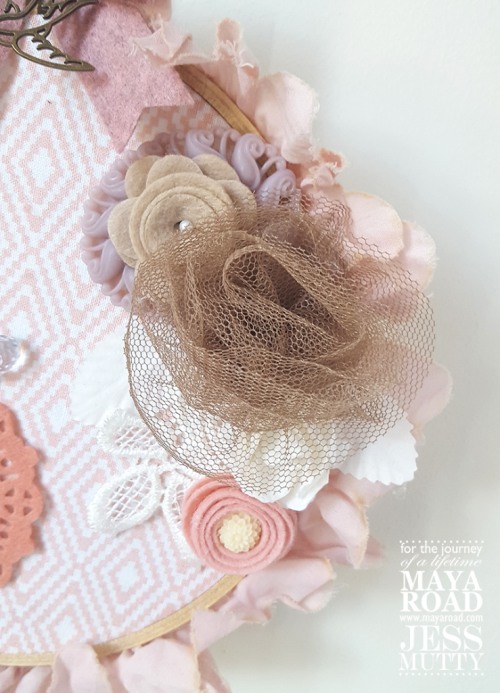 Pink Wall Hanging by Jess Mutty for Maya Road